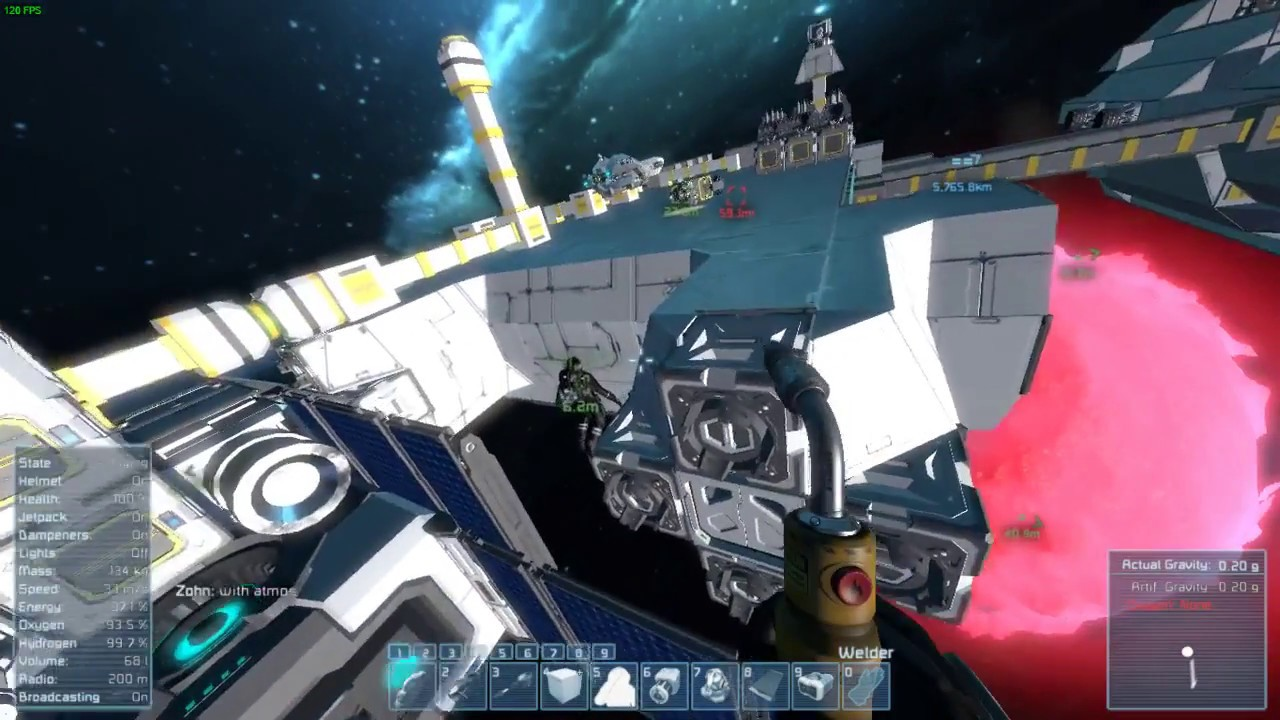 Space Engineers gameplay